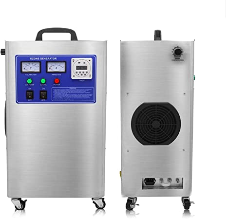 Generador de ozono de Laboratorio 3g Purificador de Aire O3 Profesional para el hogar, Oficina, hoteles, automóviles, restaurantes, Bares Limpieza Industrial: Amazon.es: Hogar