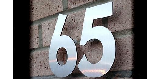 Cartel de número de dirección de casa hecho a medida de 20 ...