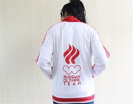 ★ Yuri!! on Ice GIACCA RUSSIA jacket tuta Yuuri Victor Nikiforov cosplay