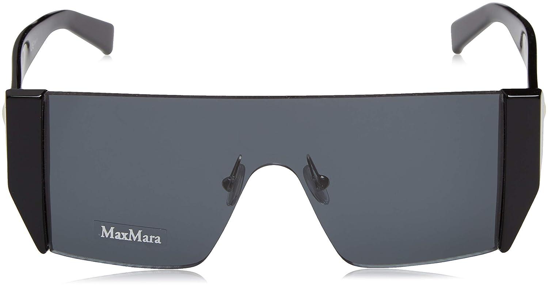 Amazon.com: Max Mara MM Lina II 807 Negro mm Lina II Visor ...