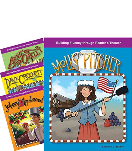 Ox Drill Set - Teacher Created Materials - Reader's Theater: American Legends - 4 Book Set - Grades 2-4 - Guided Reading Level I - S