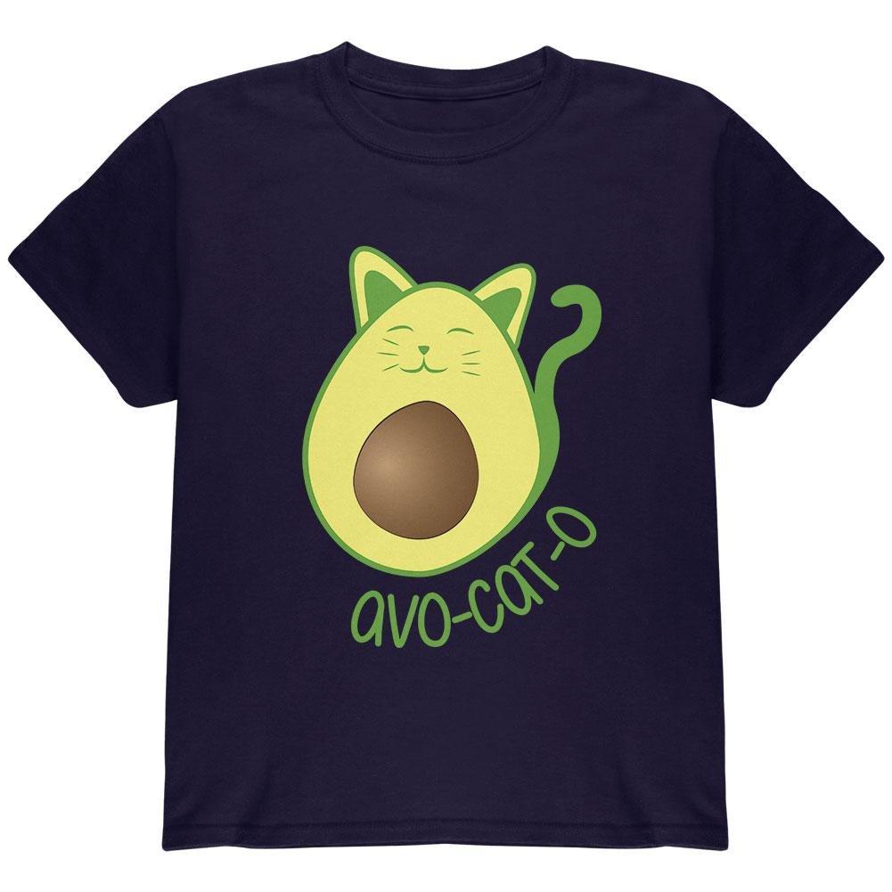 Old Glory Avocado Cat Avocato Youth T Shirt 00175346