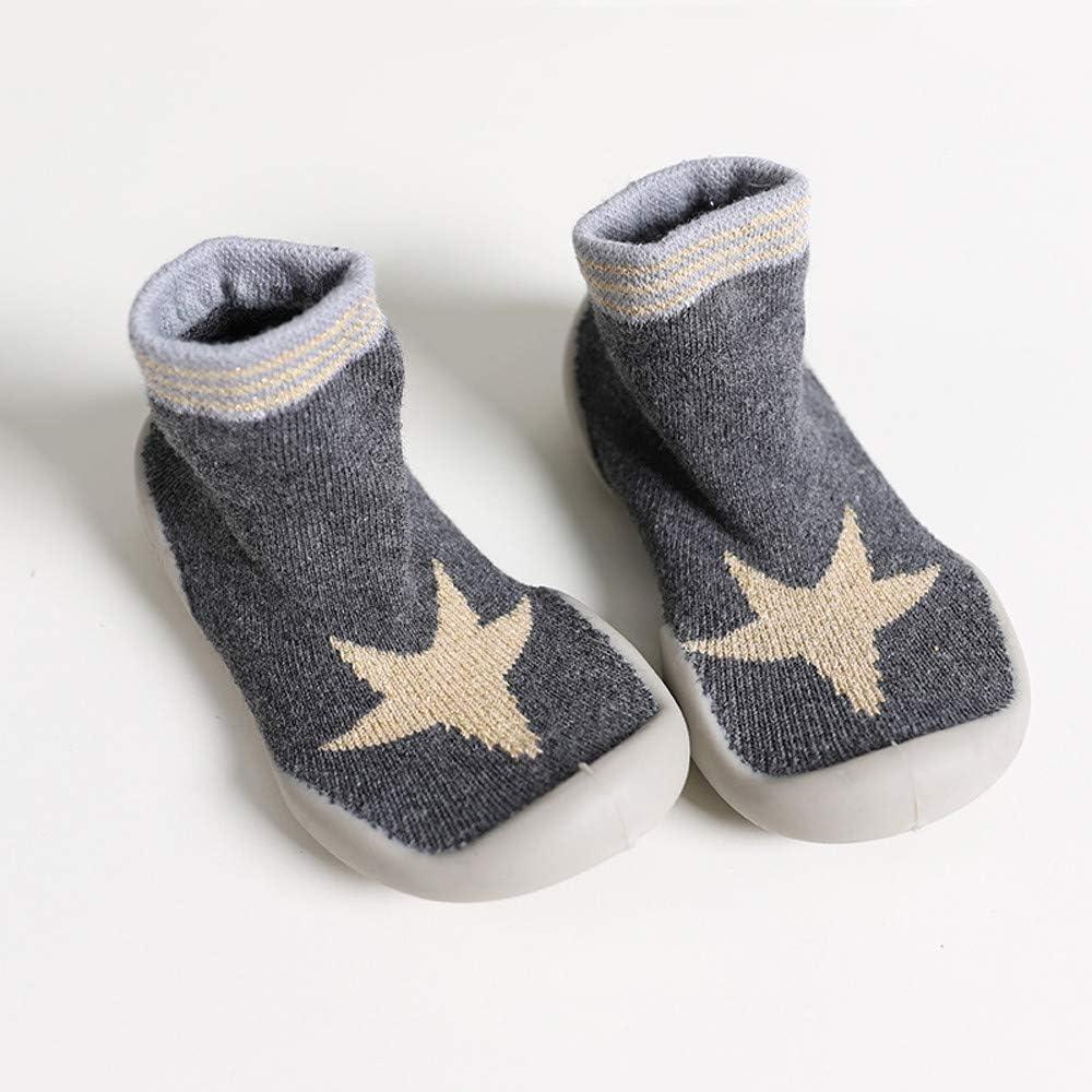 Kinder Kleinkind Socken Baby Jungen M/ädchen Cartoon Tiere Anti-Slip gestrickte warme Socken Gummisohle Socken Boden Socken Huhu833 Baby Socken