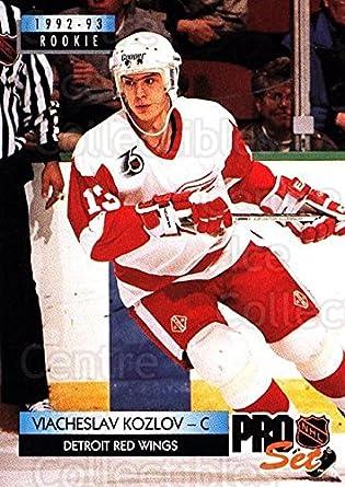 Amazoncom Ci Vyacheslav Kozlov Hockey Card 1992 93 Pro Set Base