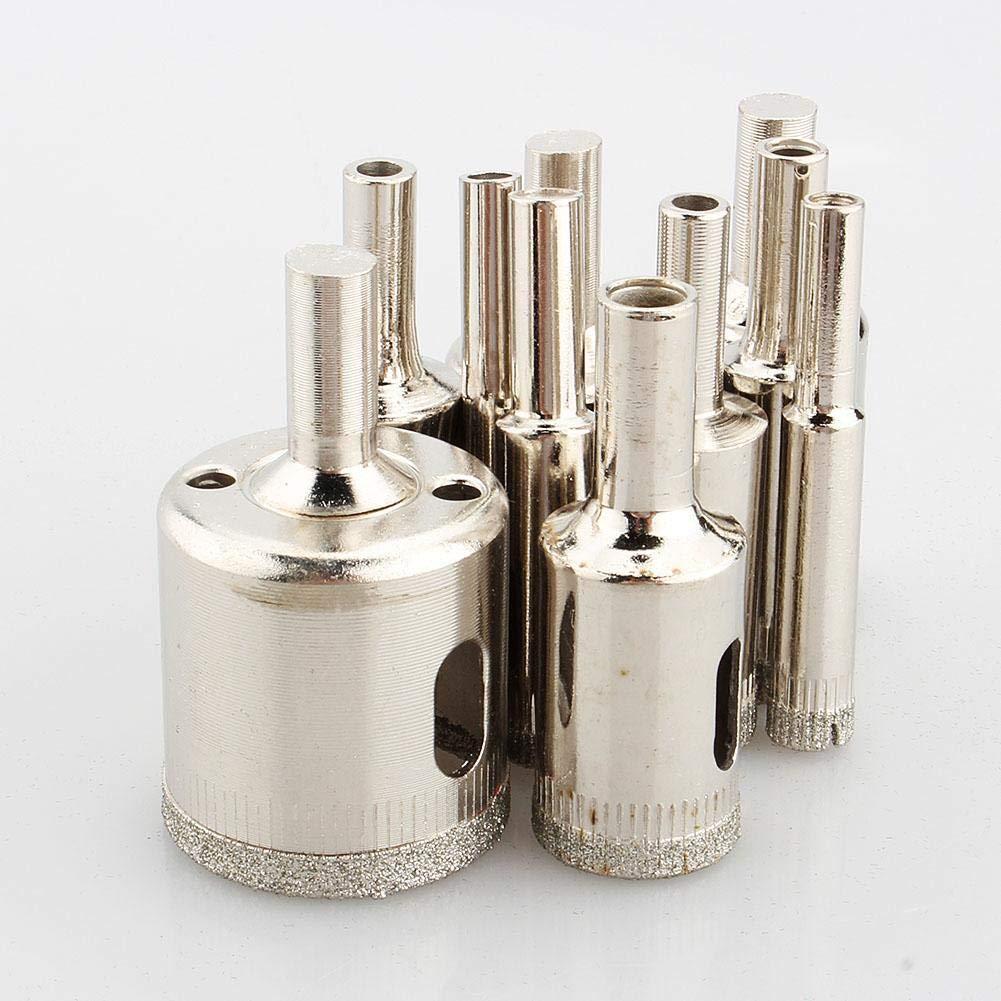 18//22 50mm 26//38 Diamant-Werkzeug 10 St/ück Metallschnitt Bohrlochs/äge Punktlochs/ägenschneider Glasmarmorfliesen Schneidwerkzeug 14//16 45 8//10