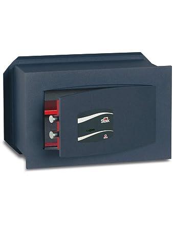 SCE8M40 Caja Fuerte de Empotrar con Llave, 4 L Volumen, 8 mm Espesura: Amazon.es: Industria, empresas y ciencia