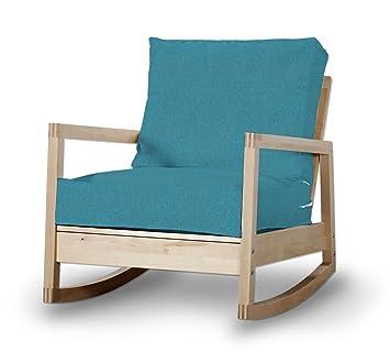 dekoria fire retardant ikea lillberg housse de fauteuil turquoisebleu sarcelle - Fauteuil Ikea Bleu