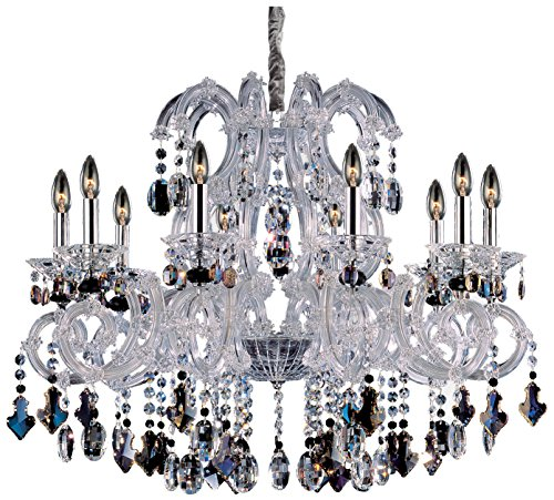 - Allegri 10068-010-FR000 Lorraine 10-Light Chandelier