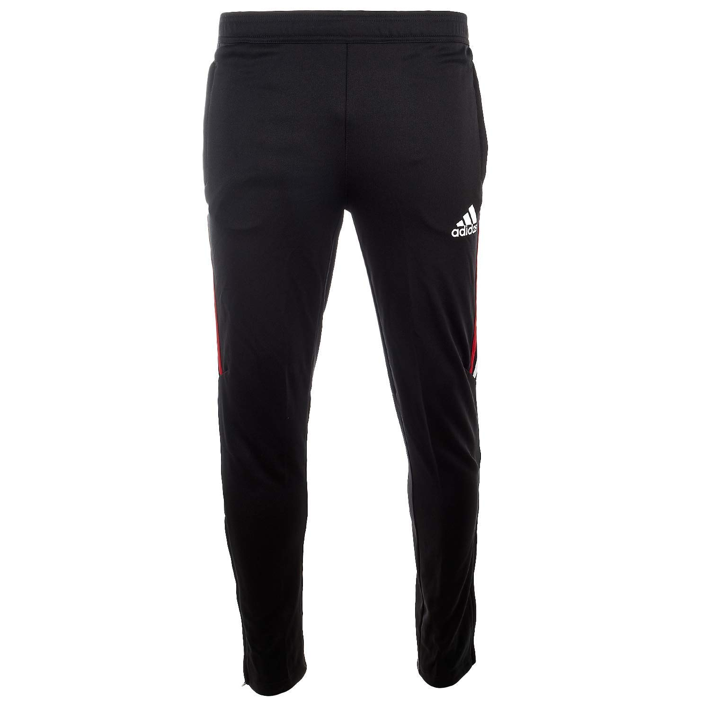 1641c34f7e11 Amazon.com  adidas TIRO 17 Training Pants - Black Power Red White   Bold  Blue - Boys - M  Clothing