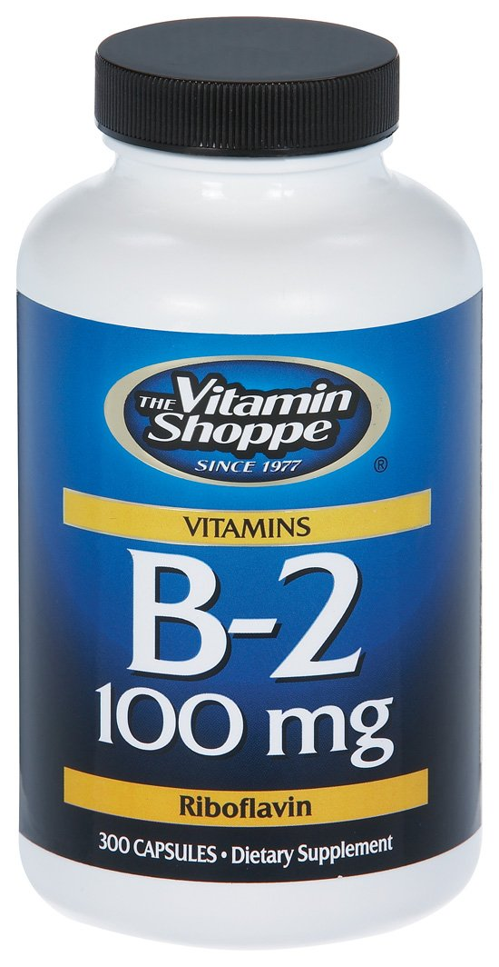 the Vitamin Shoppe - B-2, 100 mg, 300 capsules