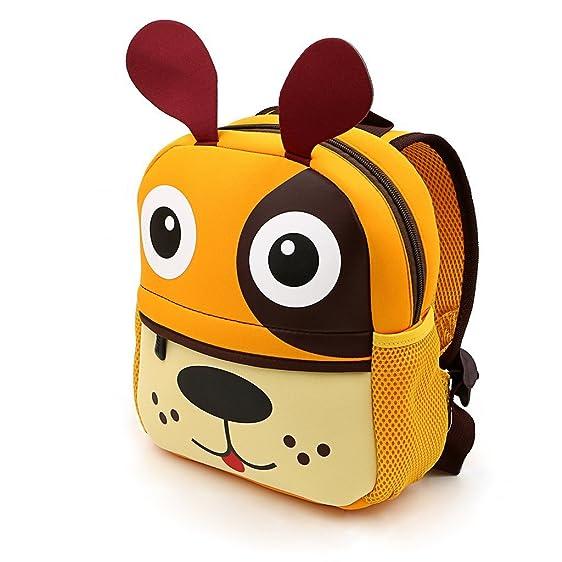 Amazon.com | LABOO Puppy Toddler Backpack, Waterproof Kids Book ...