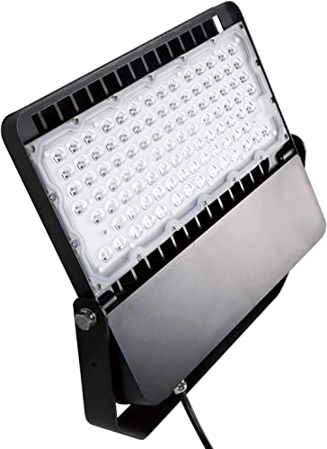 AntLux LED Flood Light 200W Super Bright Stadium Lights, 26000LM, 5000K, Outdoor Parking Lot Shoebox Arena Courts Security Lighting Fixture, 1200W Equivalent, IP66 Waterproof LED Floodlight Renewed