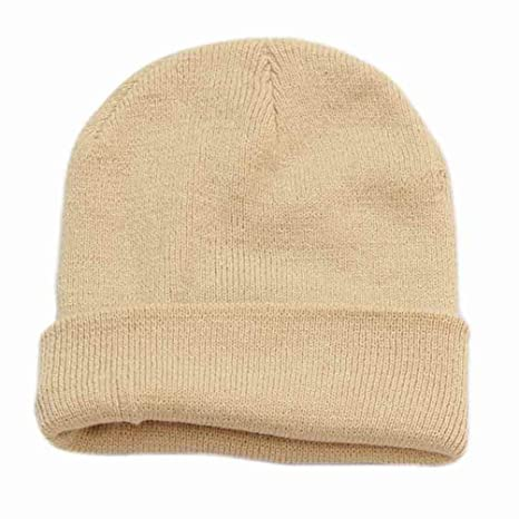 6dc81319ee7 Amazon.com   AQSEX Beanie Hat with Warm Thick Lining and Soft ...