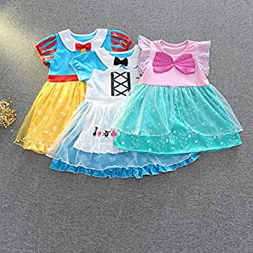 32388a5410d3d m144 アリスドレス 白雪姫 人魚姫ドレス アリエル プリンセスドレス キッズ 子供用ドレス 女の子 子供