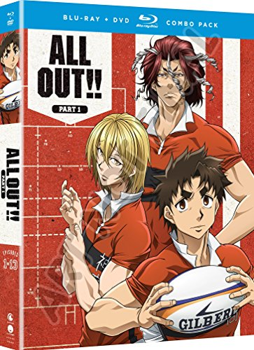 ALL OUT!!: Part One (Blu-ray/DVD Combo) by Funimation