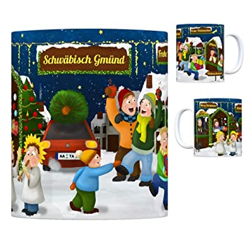 Schwäbisch Gmünd Weihnachtsmarkt.Trendaffe Schwäbisch Gmünd Weihnachtsmarkt Kaffeebecher Amazon De