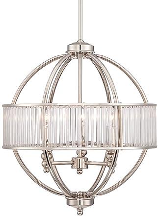 Possini euro florien 18 14 wide polished nickel chandelier possini euro florien 18 14quot wide polished nickel chandelier aloadofball Choice Image