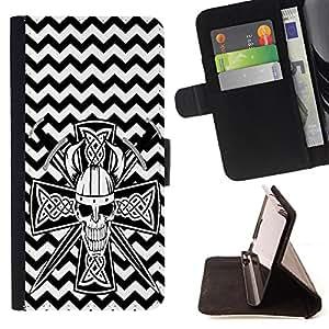 King Case - FOR Samsung Galaxy Note 4 IV - Being happy - Prima caja de la PU billetera de cuero con ranuras para tarjetas, efectivo Compartimiento desmontable y correa para la mu?eca