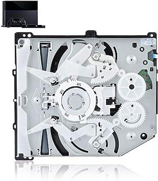 Unidad de CD-ROM DVD para PS4 KEM-490, Solo ojo Reemplazar Reproductor de DVD por la Caja de Reemplazo de la Consola de Juegos Portátil de Trituradora de Blu-Ray 490a: Amazon.es: Electrónica