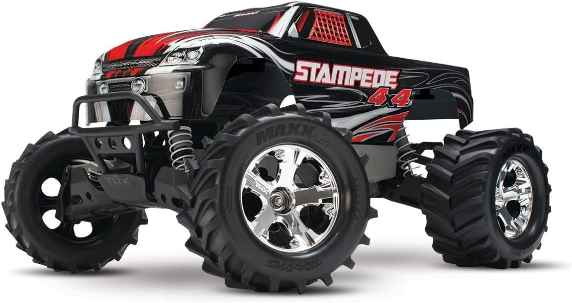 TRAXXAS Stampede 4X4: 1/10 Scale 4WD Monster Truck