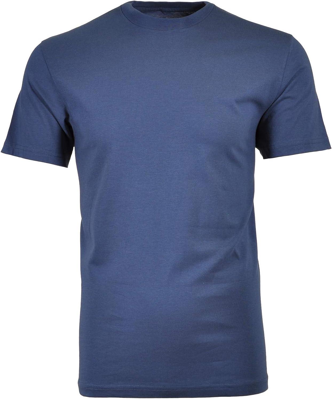 Ragman Herren T-Shirt Rundhals marine Modell 40181