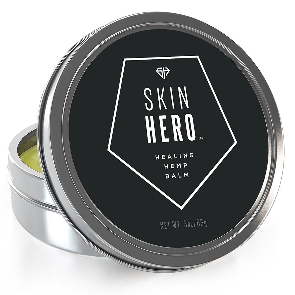 Hemp Natural Eczema & Psoriasis Treatment With Itch Relief. Skin Hero Helps M.. 14