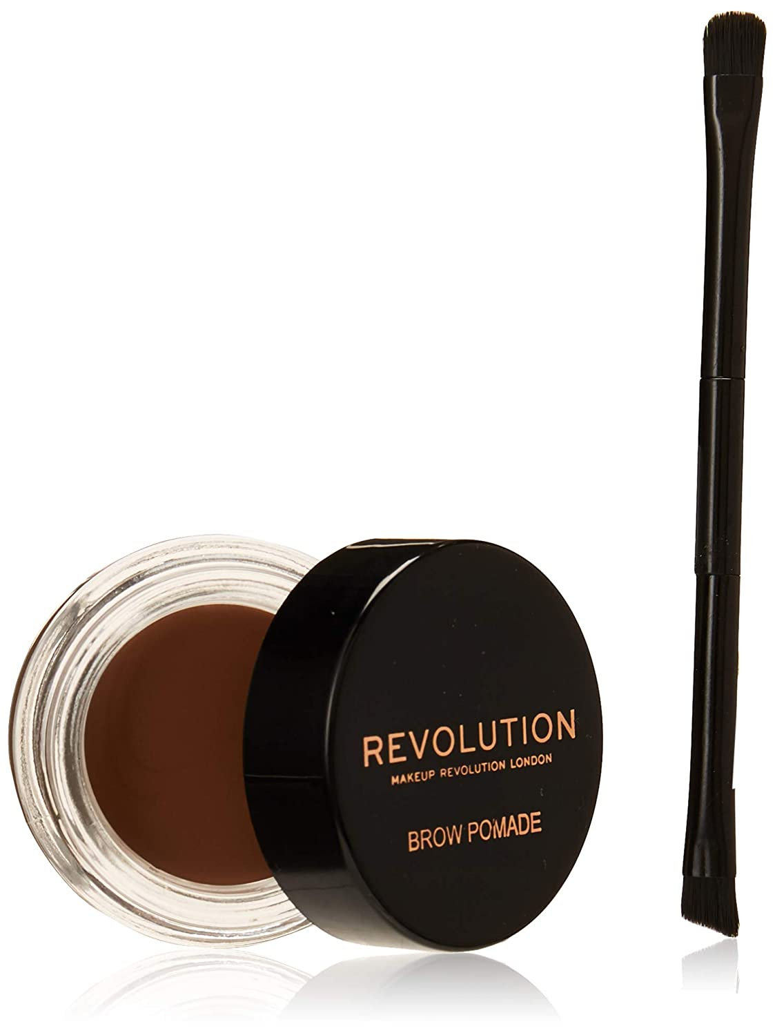 Makeup Revolution Brow Pomade with Brush (Soft Brown)