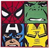 Character Marvel Comics Shaped Rug 100% Nylon Pile