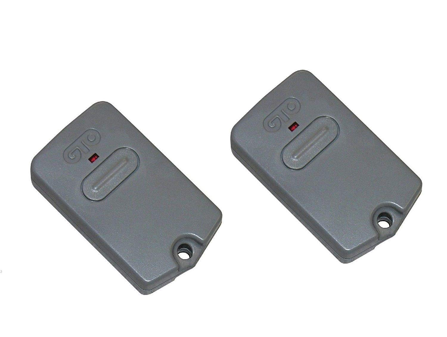 2 Pack GTO/Mighty Mule RB741 Gate Opener Remote Transmitter (Default) by 252118 (Image #1)