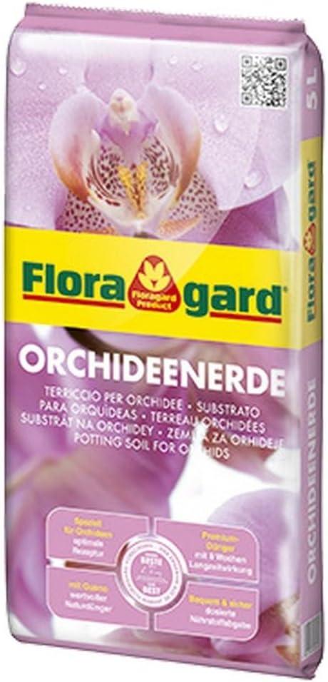 FLORAGARD - Substrato para orquídeas sin turba 5L