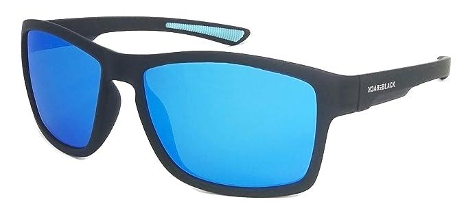 Back in Black Polarisierte SportbrilleVerspiegelte Herren Sonnenbrille