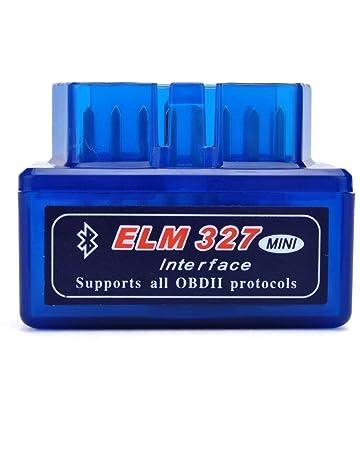 Moonar Mini ELM327 Interfaz V2.1 Bluetooth OBD-II OBD2 Auto Coche Herramienta de