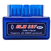 Mini ELM327 Interfaz V2.1 Bluetooth OBD-II OBD2 Auto