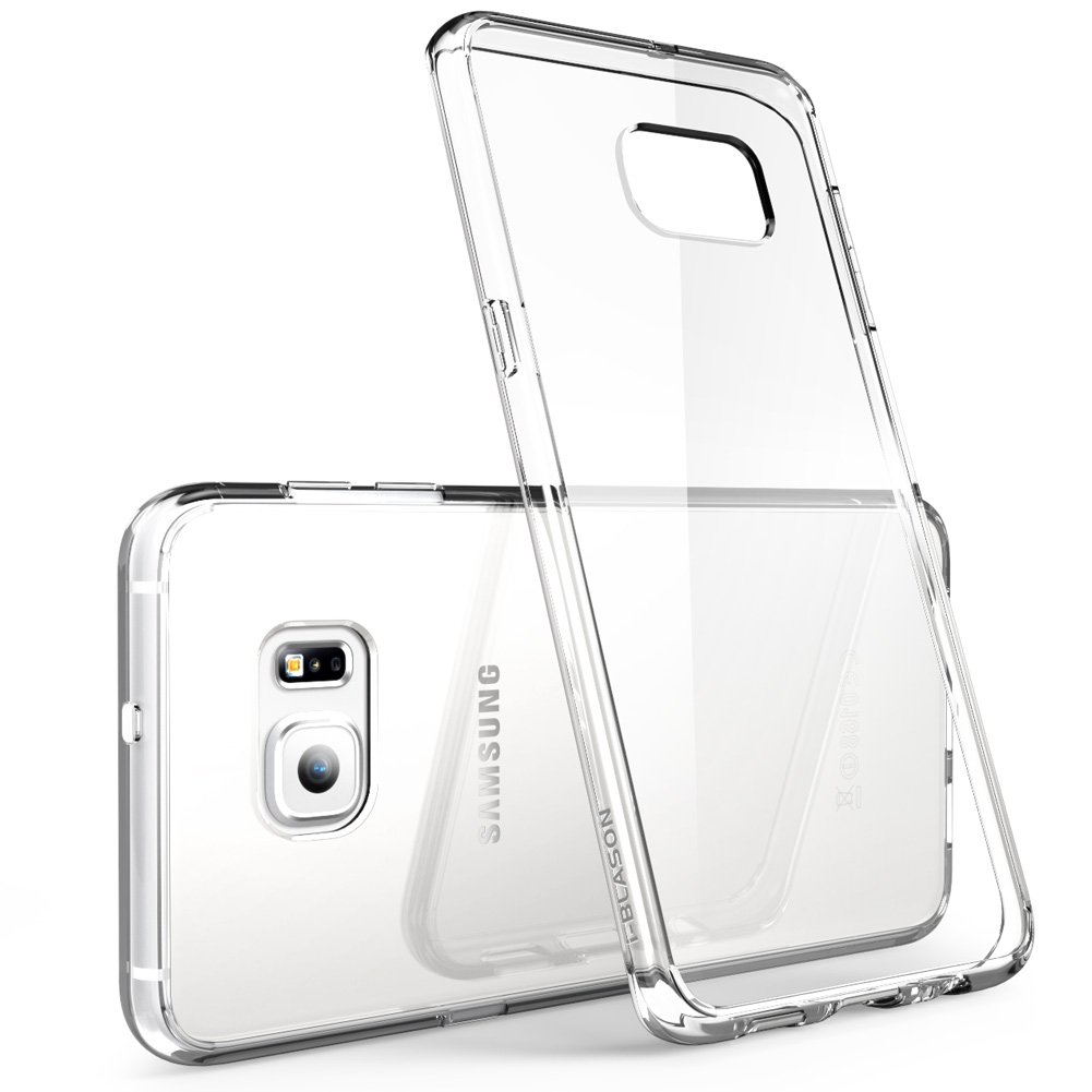 Galaxy S6 Edge Plus Case I Blason Scratch Resistant Halo Series Hybrid Clear Cover With Tpu Bumper For Samsung Shining Crystal