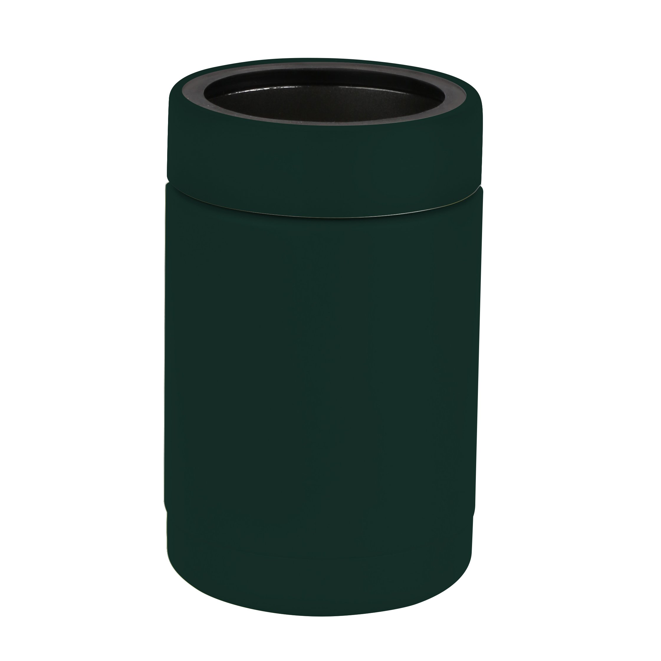 Tahoe Trails 12 oz Stainless Steel Double Wall Vacuum Insulated Can Cooler (dark green) by Tahoe Trails (Image #2)