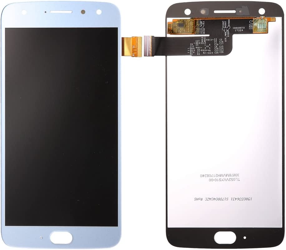 TheCoolCube LCD Screen Display Touch Screen Panel Digitizer Glass Assembly for 5.2 inch Motorola Moto X4 XT1900 Replacement Part (Blue)