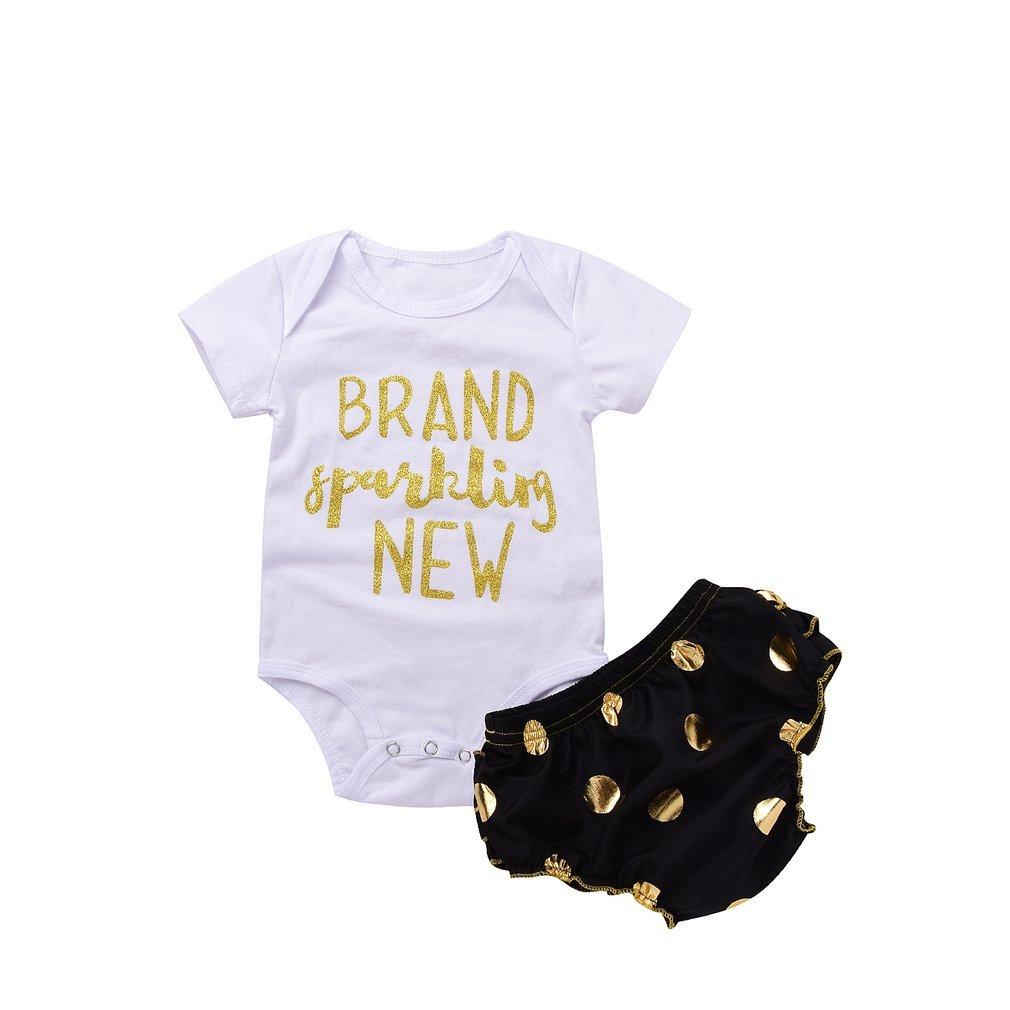 ed33cd387c16eb preiswerte Gugutogo Baby Jumpsuit Strampler mit Brief Print & Open ...