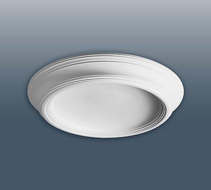 Cúpula de luz Elemento Orac Decor F10 LUXXUS decorativo de estuco para techo clásico moderno blanco
