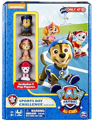 (Nickelodon Paw Patrol All Stars Sports Day Challenge Path Game Exclusive)