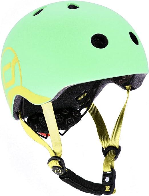 45 /à 51cm Gris Fr/êne Scoot /& Ride Kinder Fahrradhelm Casque de v/élo Mixte