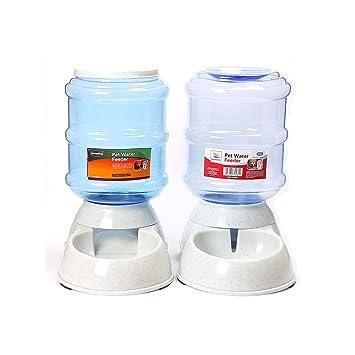 E-Pet - dispensadores automáticos de comida y de agua para perro y gato, 3,5 l - Juego de 2 unidades: Amazon.es: Productos para mascotas