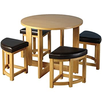 Fine Sherwood Stowaway Dining Table Set With 4 Chairs Home Interior And Landscaping Ologienasavecom