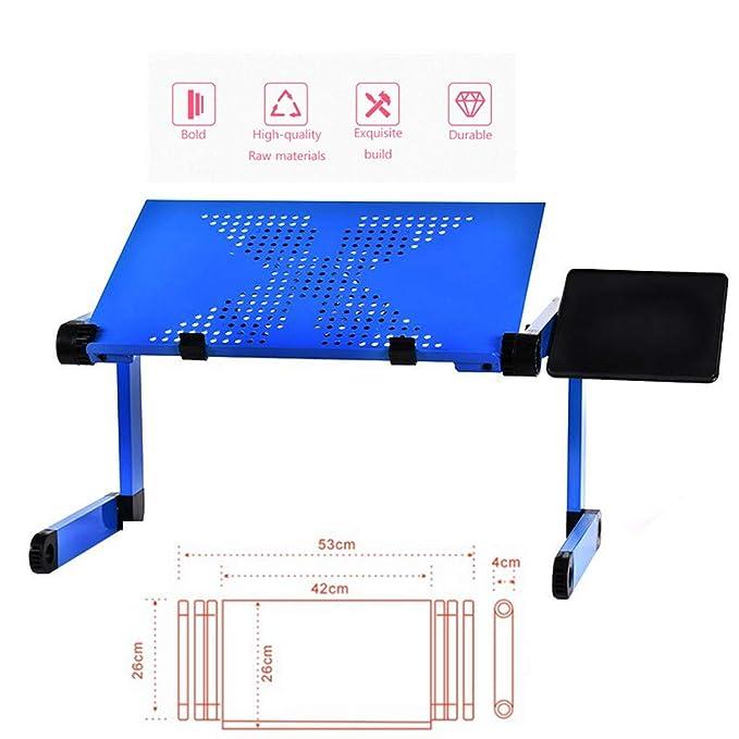 JVCZ - Mesa Plegable portátil para Ordenador portátil, sofá, Cama ...