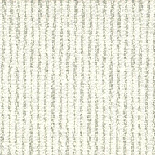 Ticking Stripe Panel (French Country Seafoam Green Ticking Stripe 84