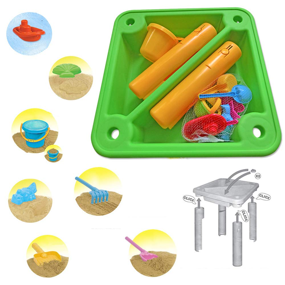 Children's Toy Sand Water Table Set, Beach Table Multiplayer Summer Play Water Kids Amusement Park Toys Seaside Play Holiday Travel by Pandady (Image #3)