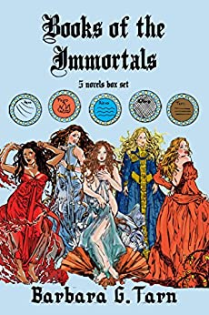 Books of the Immortals: a 5 novels box set by [G.Tarn, Barbara]