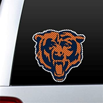 Amazoncom NFL CHICAGO BEARS Car Truck Window Film DECALS See - Window stickers for cars chicago