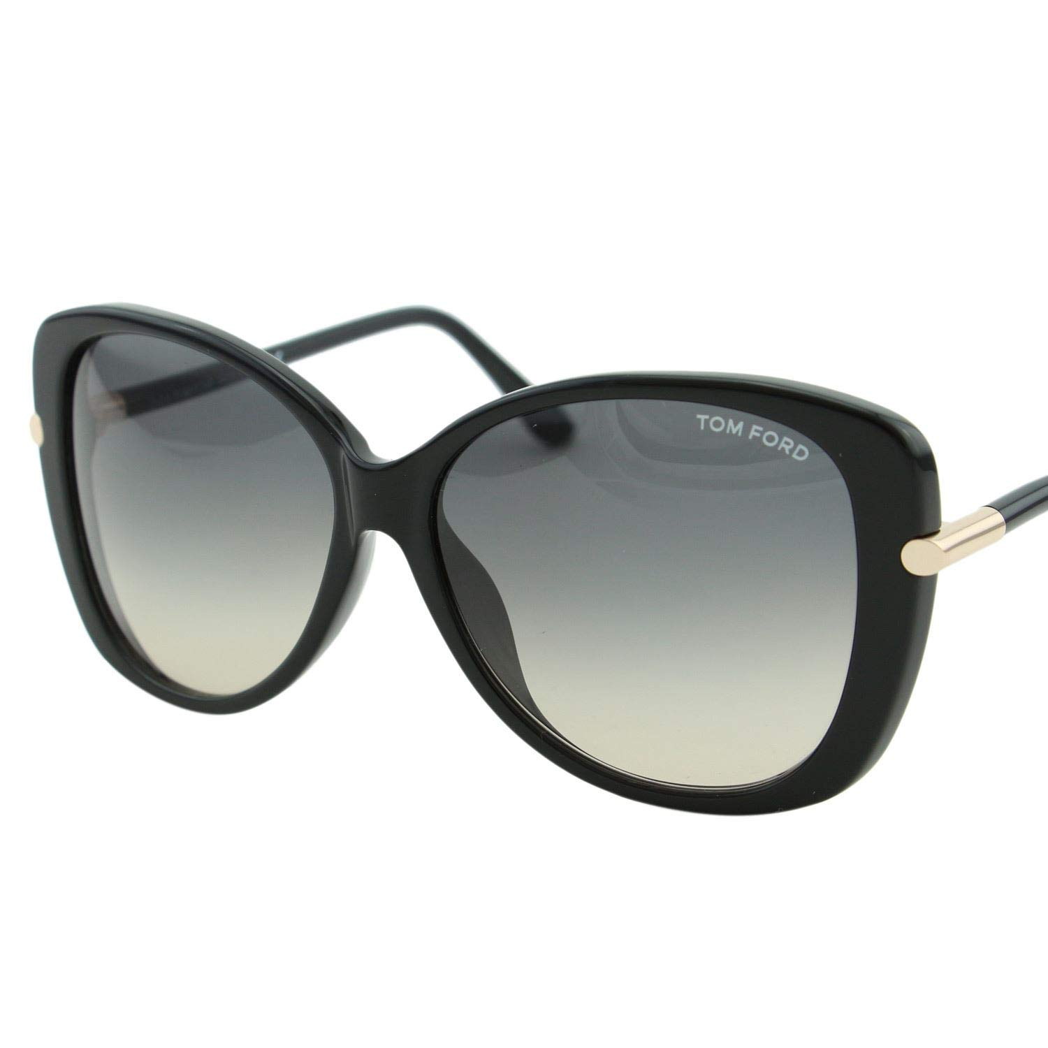 Tom Ford Sunglasses TF 9324 Sunglasses 01B Black with gold 59mm