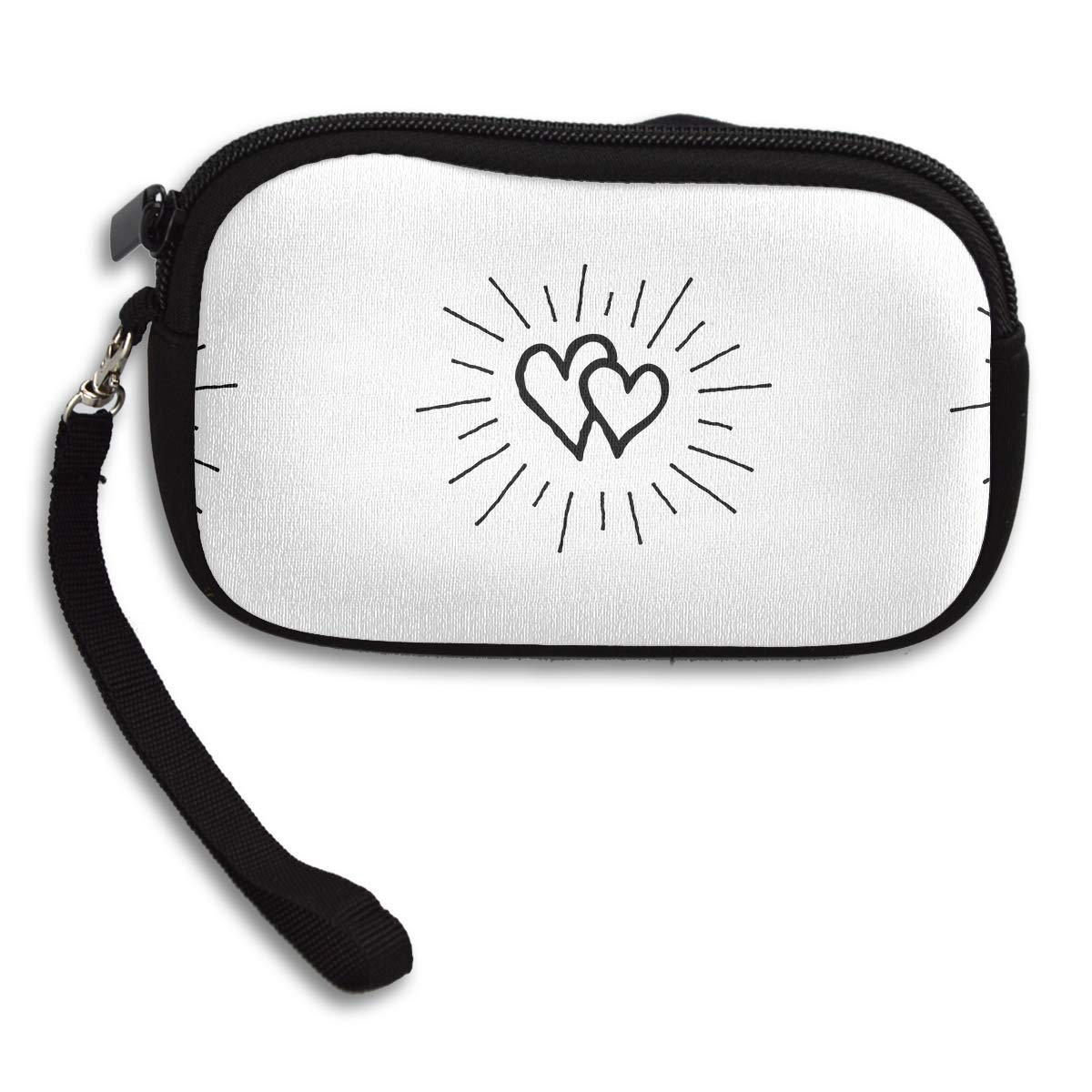 Graffiti With Love Deluxe Printing Small Purse Portable Receiving Bag