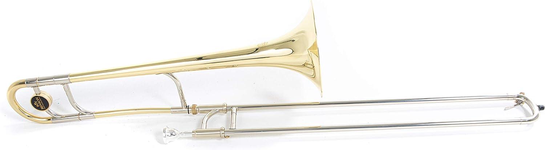 Roy Benson 701131 - Trombón tenor en Sib TT-227, acabado lacado, estuche ligero: Amazon.es: Instrumentos musicales